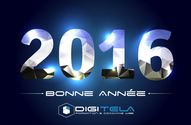 bonne année 2016 de la part de DigiTela